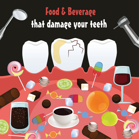 The Worst Food and Drinks for Your Teeth